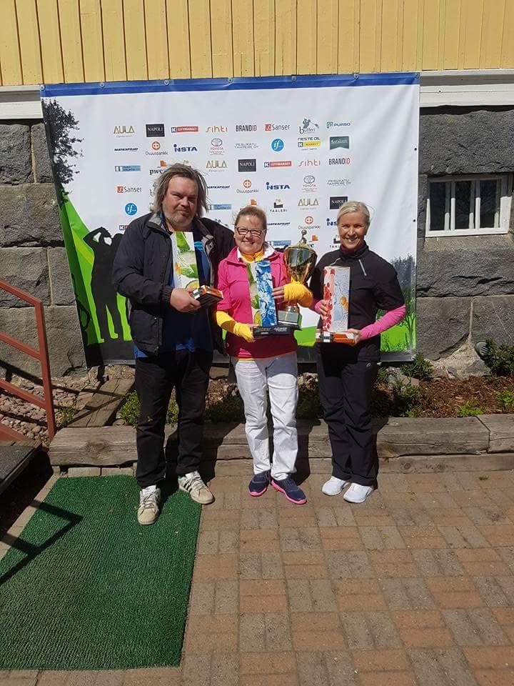 Ilves Ikuisesti Golf 3.6.2017 naisten hallintaa