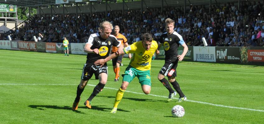 Kuvaraportti Ilves-KuPS -ottelusta 1.7.2017