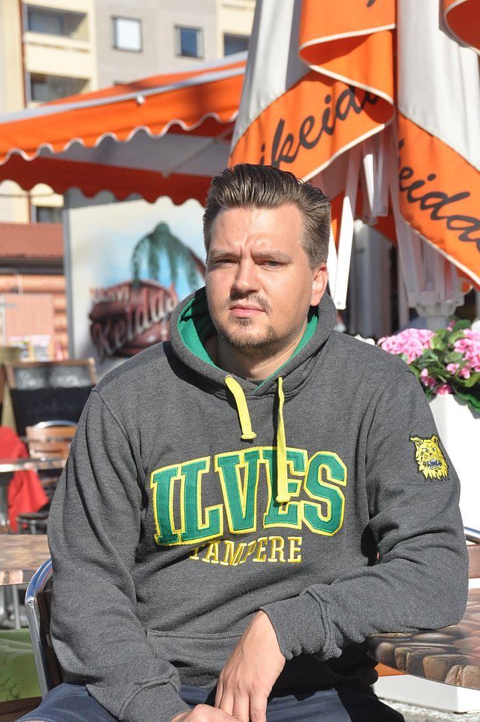 Henkilökuvassa: huoltaja Ville Niemelä