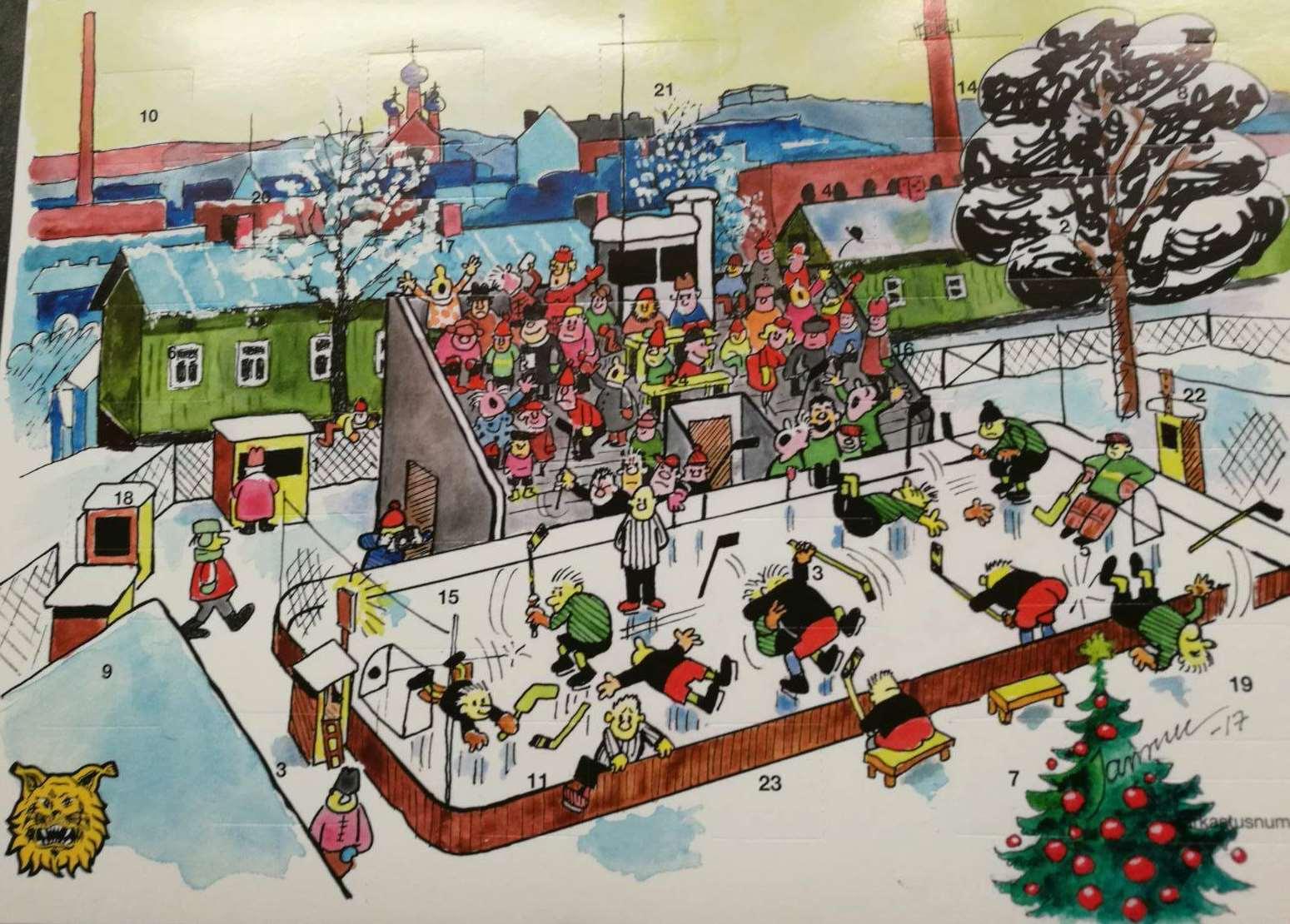 ilves joulukalenteri 2018 Joulukalenterit nyt myynnissä   ILVES IKUISESTI RY ilves joulukalenteri 2018