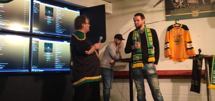 Mika Laakso Share Ilveksen haastattelussa ennen Ilves – SaiPa ottelua 27.1.2018