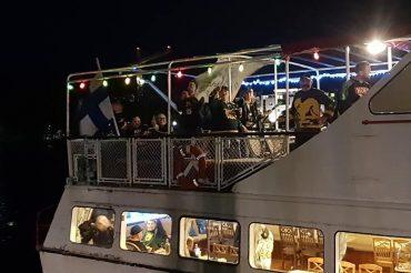 Tiedote: Ilves Ikuisesti ry Hämeenlinnan laivareissun paluumatka sai dramaattisen käänteen
