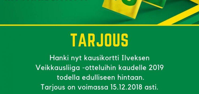 Kausikortit 2019 Tammelaan nyt tilattavissa!