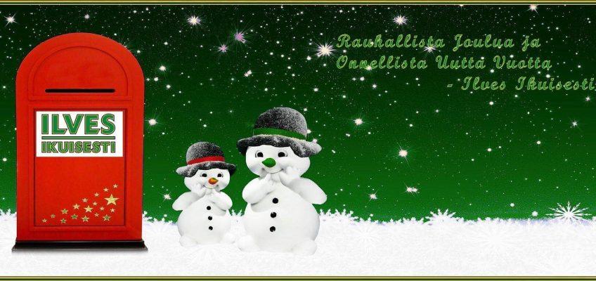 Ilves Ikuisesti ry hallitus toivottaa rauhallista joulua