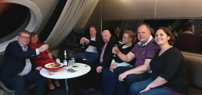 Ilves Ikuisesti ry:n pikkujouluristeily Viking Gracella 1.-2.12.2018