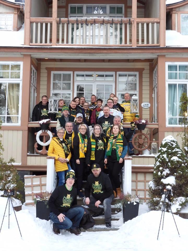 Ilves Ikuisesti ry teki ensimmäisen klubimatkansa Raumalle 19.1.2019