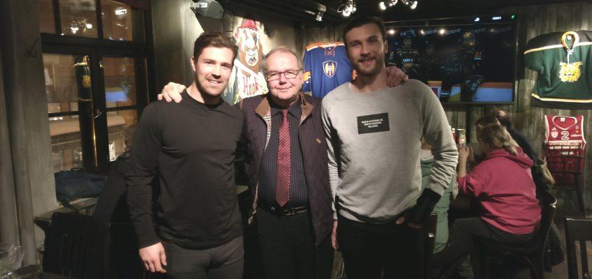 Ilves Ikuisesti rytoisen kerran kaudella 2018-2019 erilaisessa vieraspeli-illassa Ravintola Hookissa