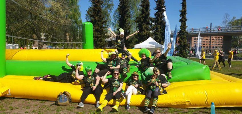 Ilves Ikuisesti ry mukana ensimmäistä kertaa Likkojen lenkillä 18.5.19