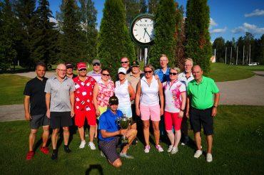 IV Ilves Ikuisesti ry kiertopokaali kisat golfissa pelattiin Hämeenlinnassa 20.07.2019